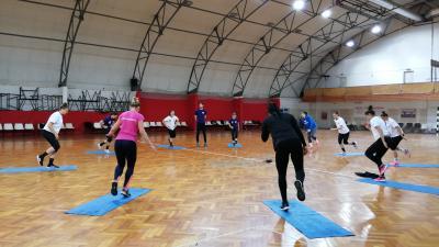 Erőnléti és mobilizációs edzéseket végez a Békéscsabai Előre NKSE – (Fotó: behir.hu)