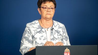 Müller Cecília (fotó: MTI/kormany.hu/Botár Gergely)