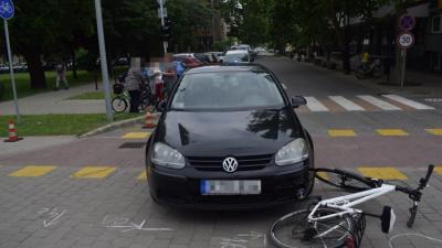 Baleset 2020.06.09.-én. Fotó: police.hu