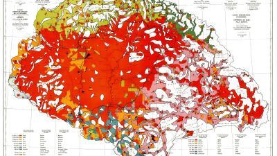 A Teleki Pál által készített Vörös térkép