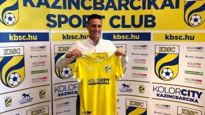 Dávid Zoltán Kazincbarcikán folytatja – (Fotó: Dávid Zoltán)