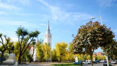 Orosháza belvárosa. Forrás: szallas.hu