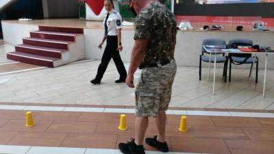 Az ittas járművezetés elleni kampány békéscsabai állomása Fotó forrás: police.hu
