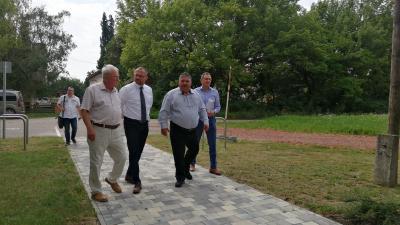 Dr. Kovács József, Gyopáros Alpár, Kürti Sándor és Lipcsei Gábor – (Fotó: Hidvégi Dávid/behir.hu)
