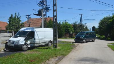 Baleset 2020.07.09.-én. Forrás: police.hu