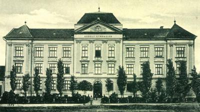 A gimnázium 1910 körül (forrás csabaihazak.blog.hu)