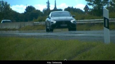 Gyorshajtó 2020.07.19.-én. Fotó: police.hu
