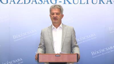 Szarvas Péter sajtótájékoztatója 2020.07.03.-án. Fotó: 7.TV/Ujházi György
