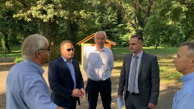 Mochnács Pál, Takács Árpád, Herczeg Tamás, Virág Zsolt és Opauszki Zoltán Pósteleken (fotó: facebook)