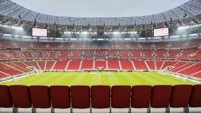A Puskás Aréna három csoportmérkőzésnek és egy nyolcaddöntőnek ad majd otthont (fotó: wikipédia)