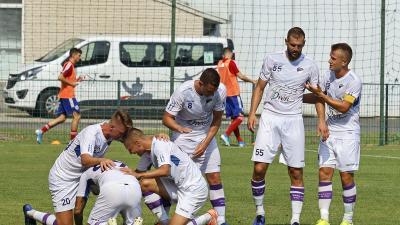 Ezúttal két gólnak örülhettek a csabaiak (Fotó: Milyó Pál)