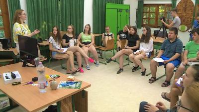 Ifjúsági Média Tábor Gyulán. Fotó: 7.TV/Kugyelka Attila