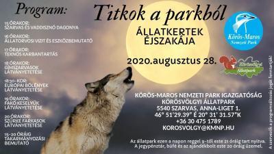 Forrás: Körös-Maros Nemzeti Park Igazgatóság