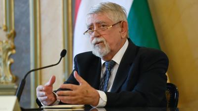Kásler Miklós (MTI fotó, Koszticsák Szilárd)