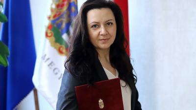 Dr. Krizsán Anett, a Békés Megyei Kormányhivatal igazgatója