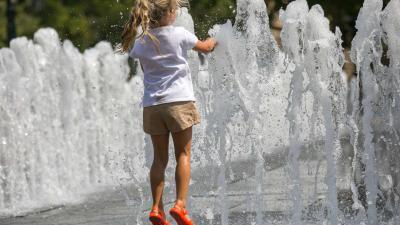 Hőség. Fotó: MTI