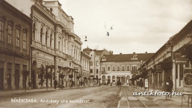Fejezetek Békéscsaba történetéből: Bankok, hitelintézetek az Andrássy úton
