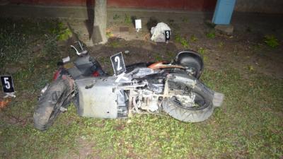 A csanádapácai baleset (fotó: police.hu)