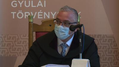 Dr. Mázor Róbert bíró. Fotó: Fazekas Róbert