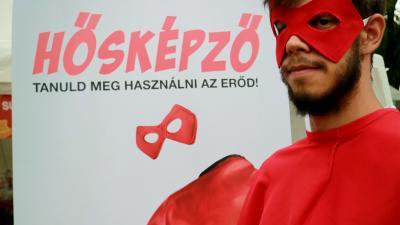 Idén is elindul a Hősképző. Fotó: Magyar Vöröskereszt