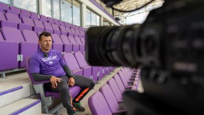 Schindler Szabolcs utolsó hosszú interjúja során a 7.Tv-nek – (Fotó: Bagi József)