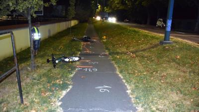 Gyulán két kerékpáros ütközött össze Fotó: police.hu