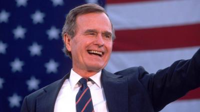 George H.W. Bush 94 esztendősen hunyt el 2018-ban – (Fotó: Cynthia Johnson/Liaison/Getty Images)