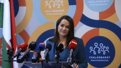 Novák Katalin (MTI fotó)