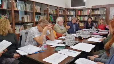 Az első olvasó próba nyilvános volt – (Fotó: behir.hu)