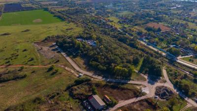 A Kétegyházi úti iparterület (fotó: behir.hu)