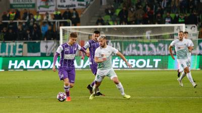 Hodonicki Márk nyáron került fel az első csapathoz – (Fotó: Szombathelyi Haladás Facebook)