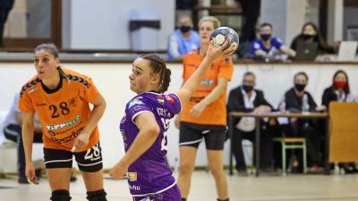 Kukely Anna a 2021/22-es szezonban is a csabaiak sikeréért küzd majd (Fotó: Milyó Pál)
