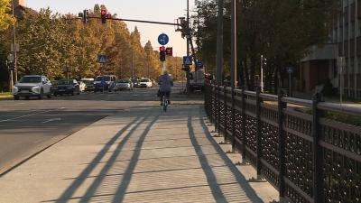 Elkészült a Munkácsy-híd. Fotó: Bagi József