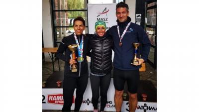 A csabai atléták kiváló eredménnyel tértek haza a 24 órás ultrafutó magyar bajnokságról. Fotó: KOPP Békéscsabai AC