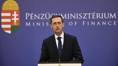 Varga Mihály pénzügyminiszter (MTI fotó: Kovács Tamás)