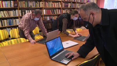 Digitális tanrendre álltak át a BSZC tagintézményei. Fotó: Kovács Dénes / 7.TV