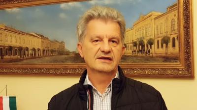 Szarvas Péter videóüzenetben reagált a szigorításokra. Fotó: Facebook.com/Szarvas Péter