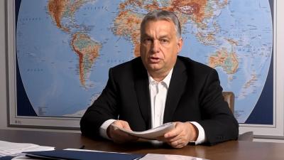 Orbán Viktor bejelentette, hogy 30 napra ingyenes lesz az internet a digitális oktatásban résztvevők számára. Forrás: Facebook/Orbán Viktor