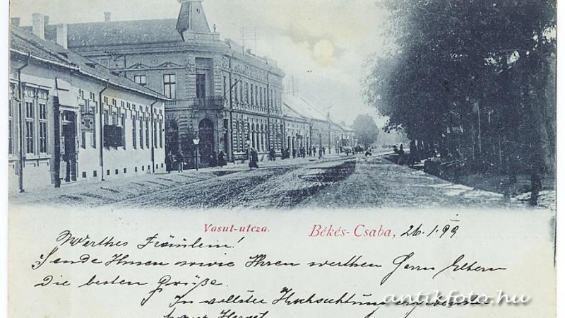 Fejezetek Békéscsaba történetéből: Egykori iparosok az Andrássy úton