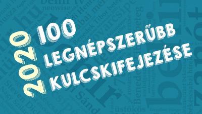 2020 száz legnépszerűbb kulcskifejezése a behir.hu-n. Fotó: behir.hu