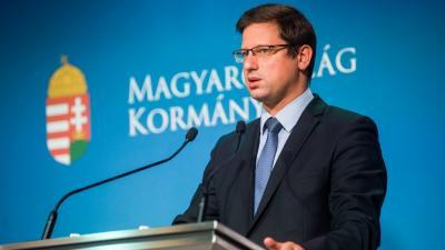 Gulyás Gergely (MTI fotó: Balogh Zoltán)