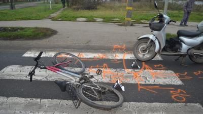 A gyomaendrődi baleset (fotó: police.hu)