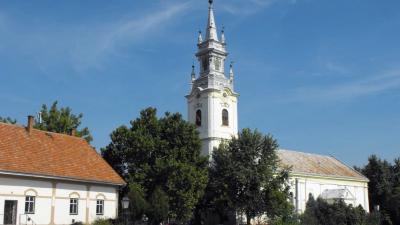 Sarkad belvárosa – (Fotó: Wikipédia)