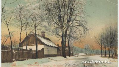 Békéscsaba téli tájképen (forrás www.antikfoto.hu)