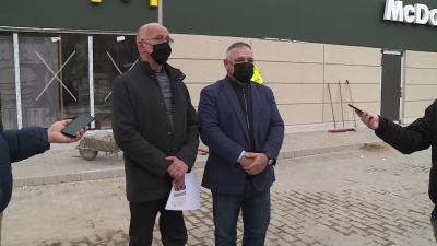Szántó Tamás (balra) és Héjja János (Kép: Fazekas Róbert/BMC)