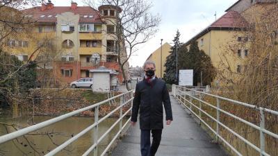 Szarvas Péter polgármester  (fotó: facebook.com/szarvas.peter.bcs)