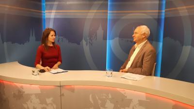 Herczeg Tamással a 7.Tv stúdiójában beszélgettünk