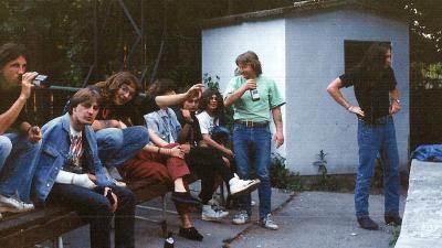 A KO melletti szabadtéri színpad – Fotó: Vida Róbert archívumából
