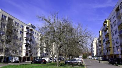 A Lencsési lakótelep panelházai – Fotó: behir.hu/Such Tamás