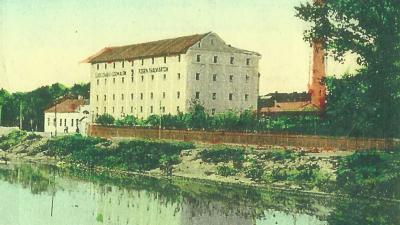 A Rosenthal malom egykor